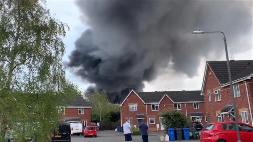 Εκρήξεις στο Ντέρμπι της Αγγλίας