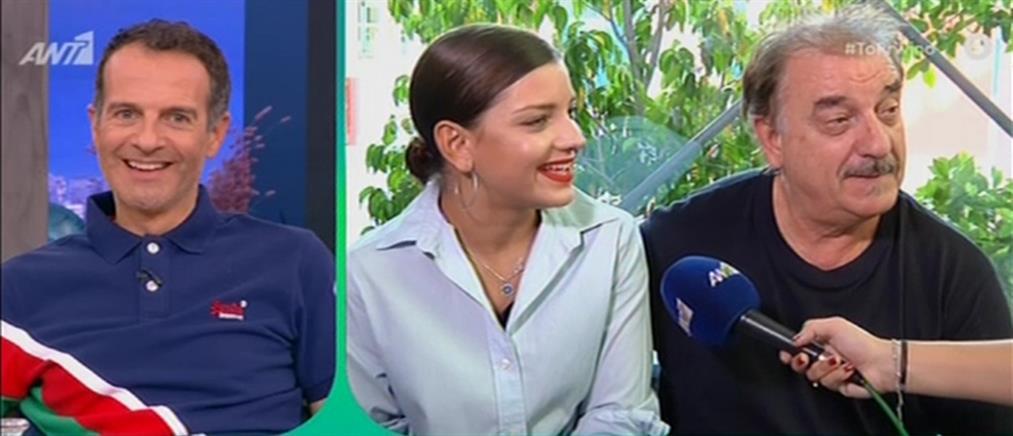 """Ο Μιχάλης Μητρούσης και η κόρη του εκ βαθέων στο """"Πρωινό"""""""