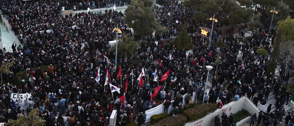 Κόντρα Βορίδη - Τσίπρα για τις διαδηλώσεις