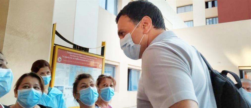 Κικίλιας: Μεγάλος μοριακός αναλυτής για τεστ κορονοϊού στο Νοσοκομείο Χανίων