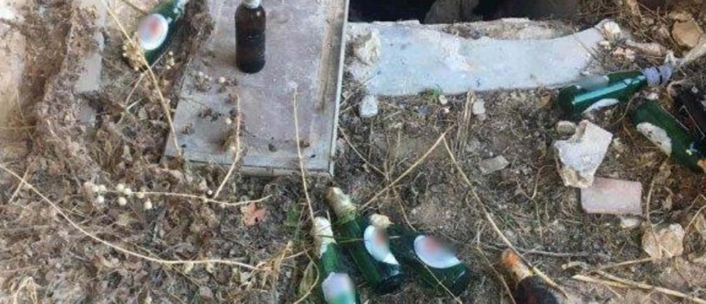 ΓΑΔΑ: Βόμβες μολότοφ σε κτίριο στα Εξάρχεια (εικόνες)