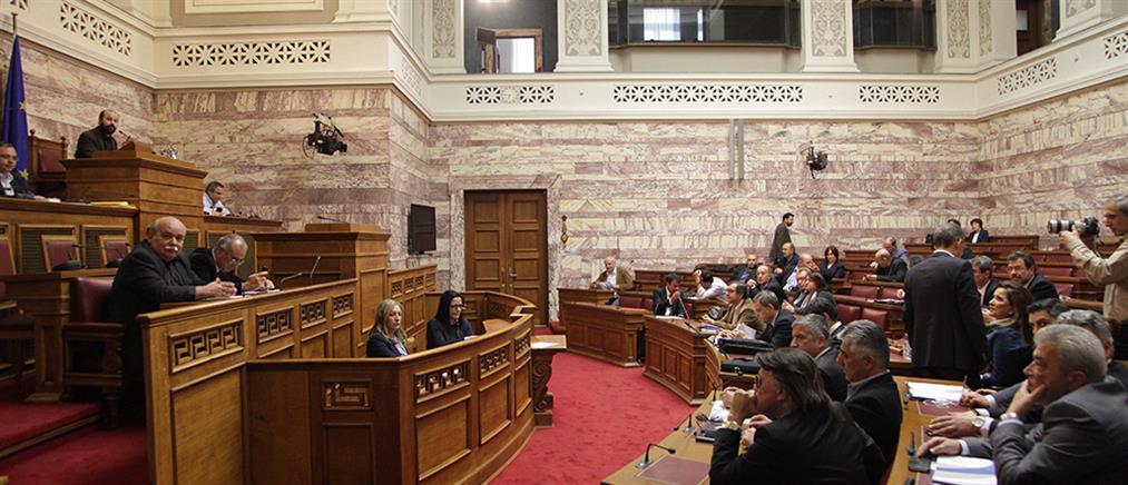 Διαξιφισμοί στη Βουλή για την ΠΝΠ