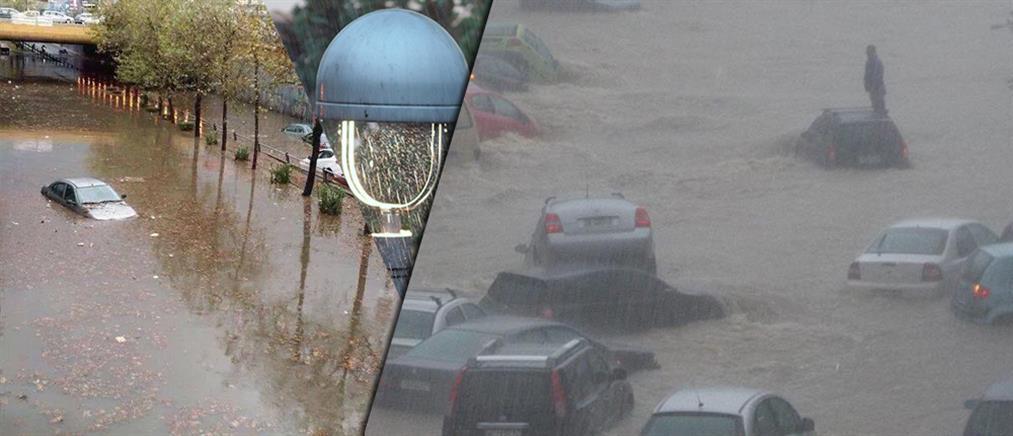 Σε κατάσταση έκτακτης ανάγκης οι Αχαρνές – Αποκαταστάθηκαν τα προβλήματα στο Περιστέρι