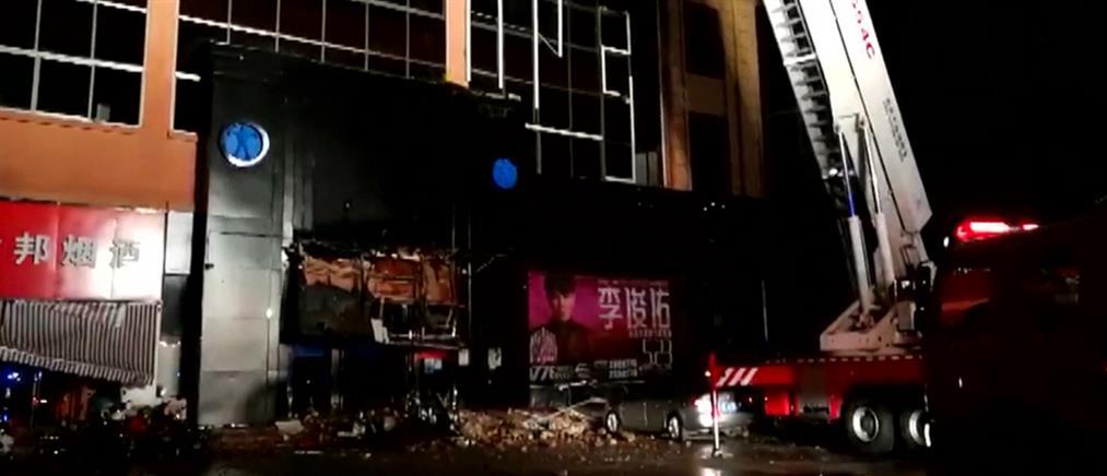 Τραγωδία με κατάρρευση στέγης μπαρ (βίντεο)