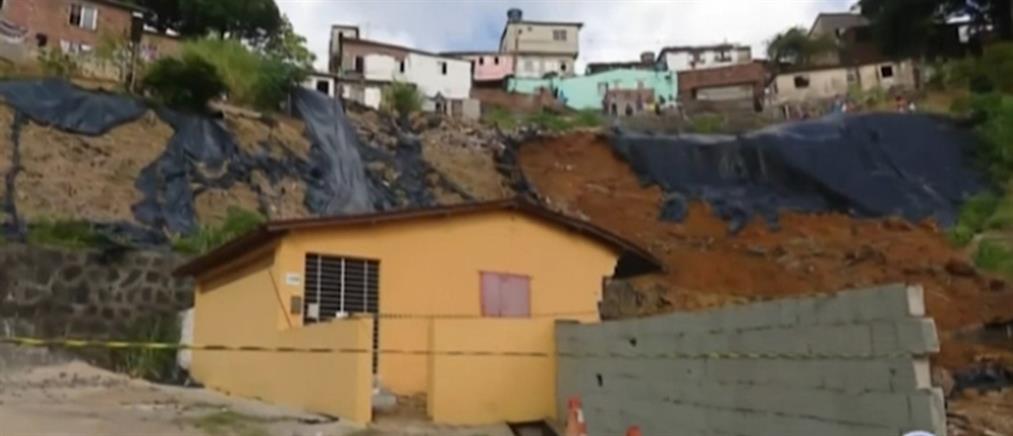 Βραζιλία: δεκάδες νεκροί από την κακοκαιρία