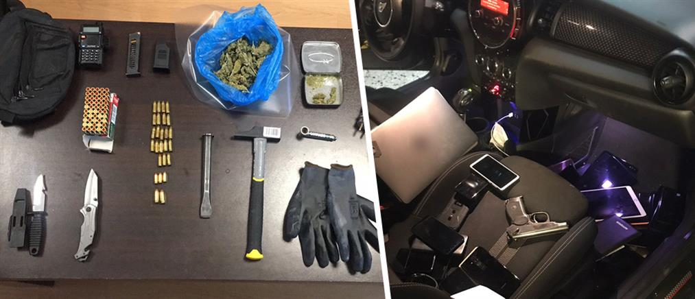 """Σύλληψη διαρρήκτη με """"ειδίκευση"""" στο ριφιφί (εικόνες)"""