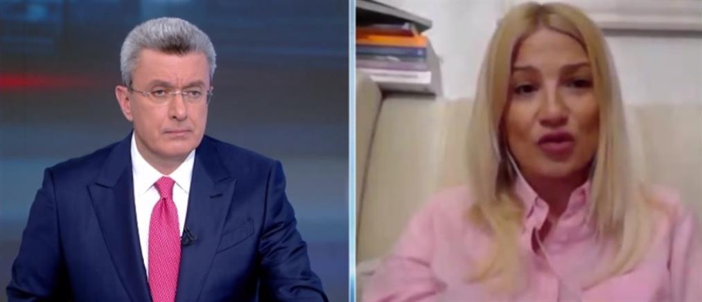 Η Φαίη Σκορδά στον ΑΝΤ1 για την δοκιμασία της με τον κορονοϊό (βίντεο)