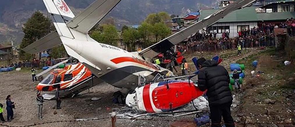 Τραγικό δυστύχημα: Αεροπλάνο συγκρούστηκε με ελικόπτερο (βίντεο)