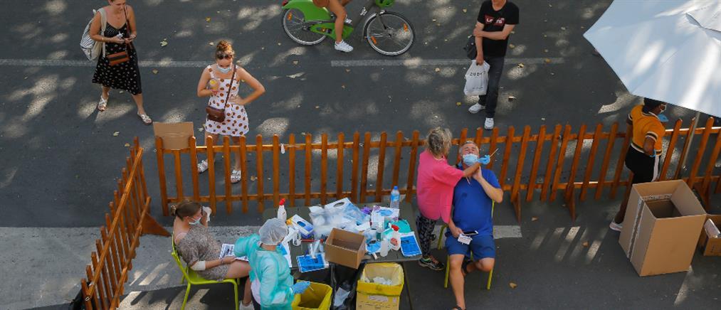Κορονοϊός - Γαλλία: μείωση κρουσμάτων μετά το ρεκόρ του Σαββάτου