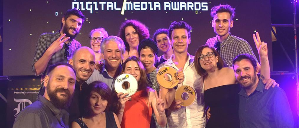 Digital Media Awards: 10 σπουδαία βραβεία για τον Όμιλο ΑΝΤΕΝΝΑ