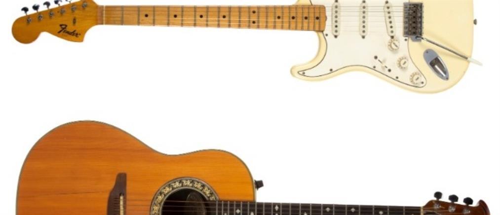 """Θρυλικές κιθάρες βγαίνουν """"στο σφυρί"""""""