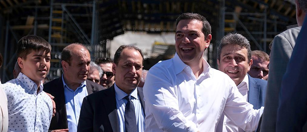 """Αυγενάκης: Ο Τσίπρας κάνει """"εγκαίνια βιτρίνας"""" στο Ηράκλειο"""