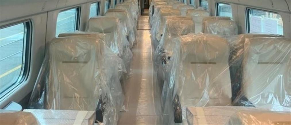 """""""Λευκό Βέλος"""": Φτάνει στην Ελλάδα το πρώτο τρένο νέας γενιάς (εικόνες)"""