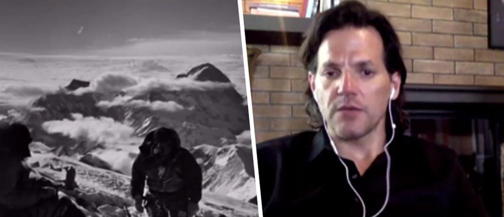Ο υπεραθλητής-γιατρός που ανέβηκε στο Έβερεστ μιλά στον ΑΝΤ1 (βίντεο)