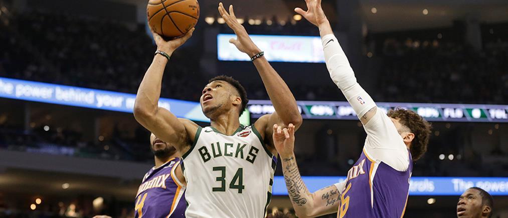 Bucks: Επιστροφή στις νίκες και εξαιρετικός Giannis