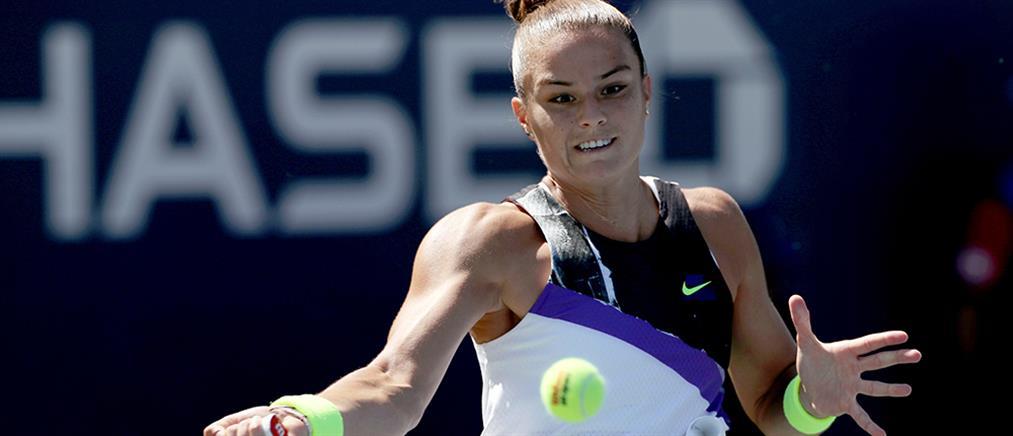 WTA Elite Trophy: επέστρεψε αλλά ηττήθηκε η Σάκκαρη