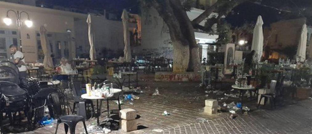 Κορονοϊός: οργή για τα νυχτερινά πάρτι στις πλατείες (εικόνες)