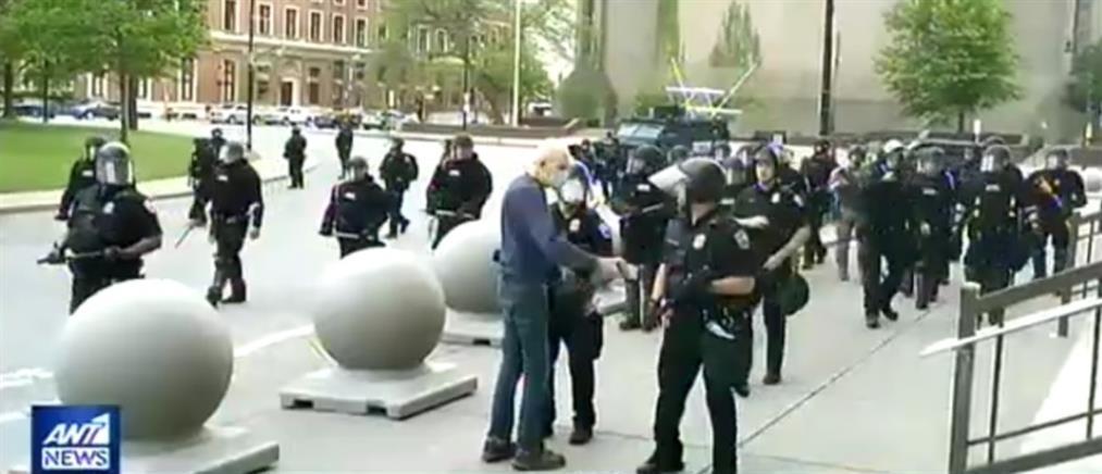 Ποινική έρευνα για την αστυνομική βία σε βάρος ηλικιωμένου (βίντεο)