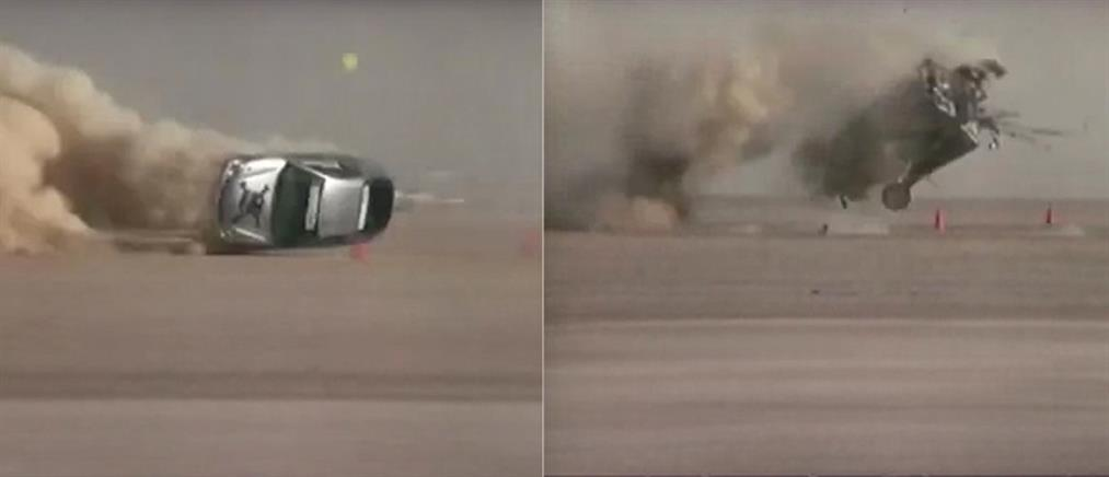 Τρομακτικό ατύχημα σε αγώνες ταχύτητας