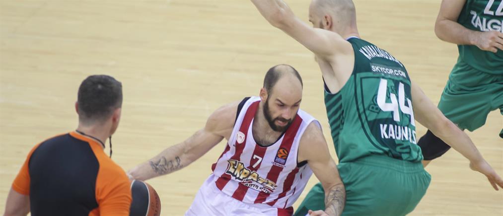 """Euroleague: η Ζαλγκίρις """"πλήγωσε"""" για τρίτη φορά τον Ολυμπιακό"""