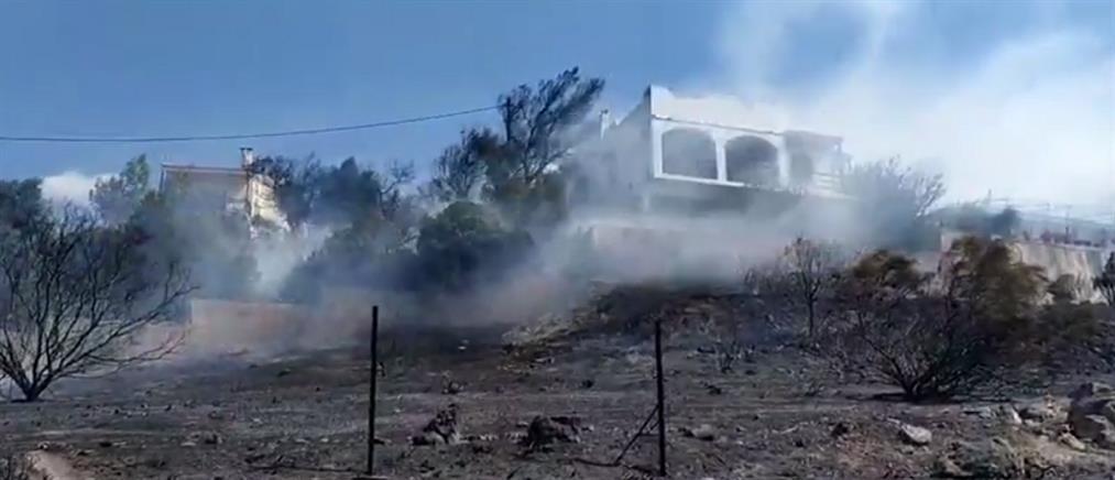 Πυρκαγιά στη Σαρωνίδα