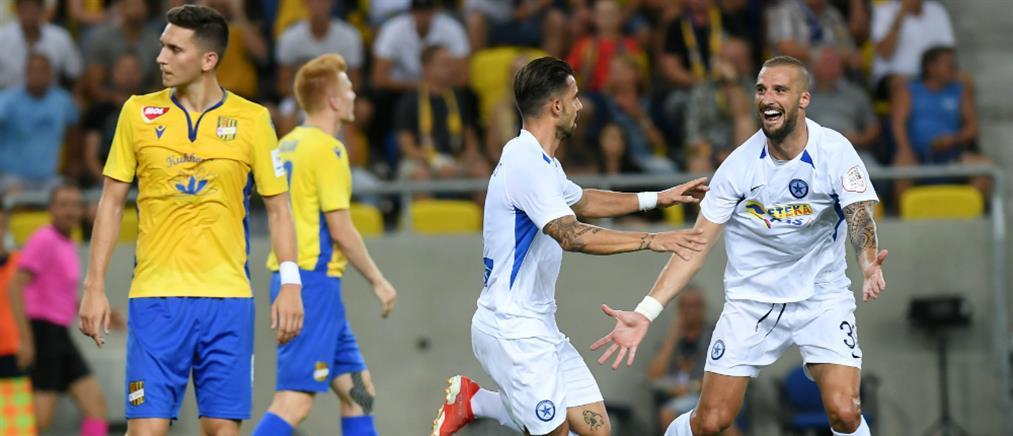 Europa League: Προβάδισμα για την πρόκριση πήρε ο Ατρόμητος