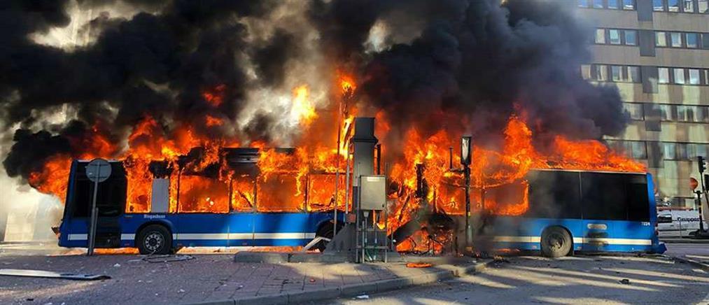Μεγάλη έκρηξη στη Στοκχόλμη (εικόνες)