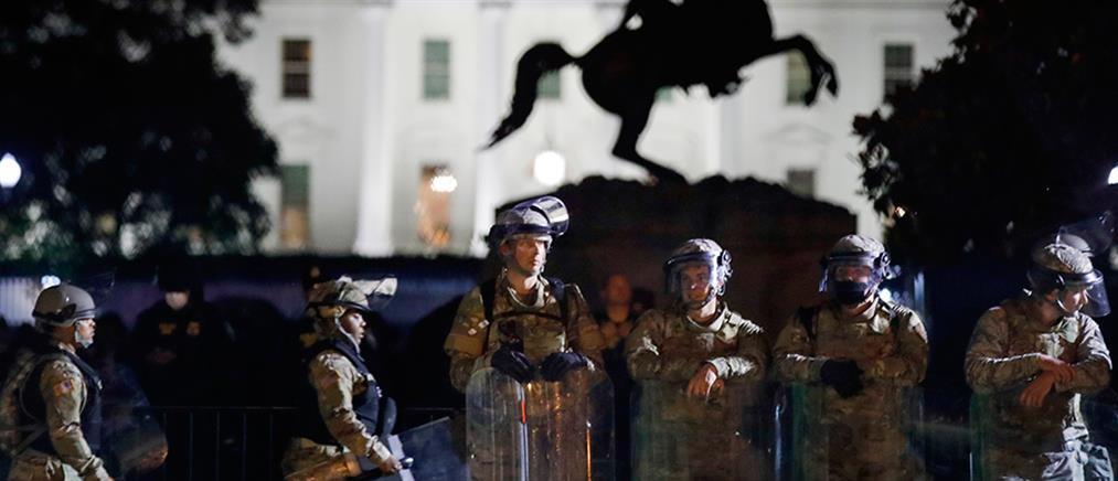 Την απόσυρση της Εθνοφρουράς από την Ουάσινγκτον διέταξε ο Τραμπ