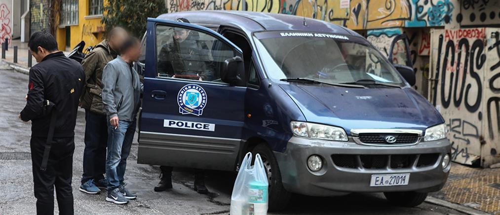 Εκτεταμένη αστυνομική επιχείρηση στη Μενάνδρου