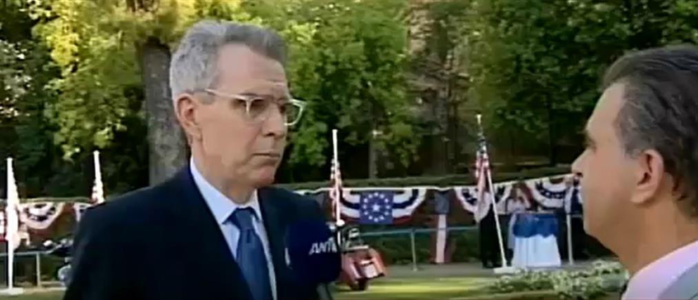 Ο Τζέφρι Πάιατ στον ΑΝΤ1 για την Τουρκία και τους S-400 (βίντεο)