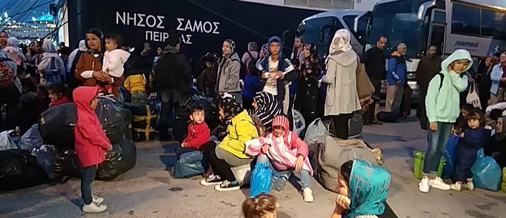 Στον Πειραιά εκατοντάδες αιτούντες άσυλο από τα νησιά του Αιγαίου