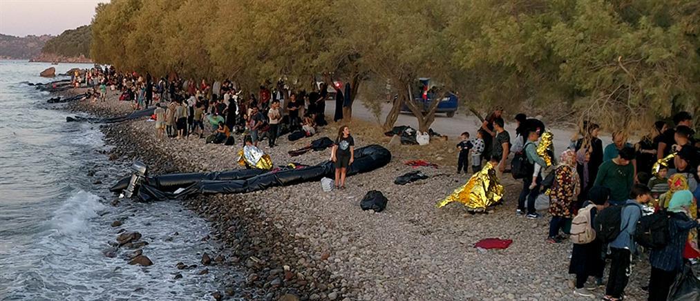 Μειωμένες αλλά αδιάκοπες οι προσφυγικές ροές