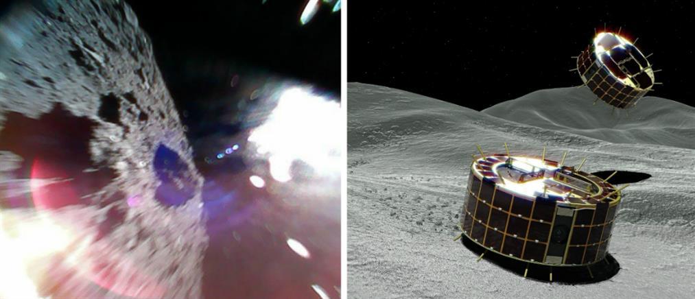 """Ρομποτικά οχήματα """"πάτησαν"""" σε αστεροειδή (εικόνες)"""