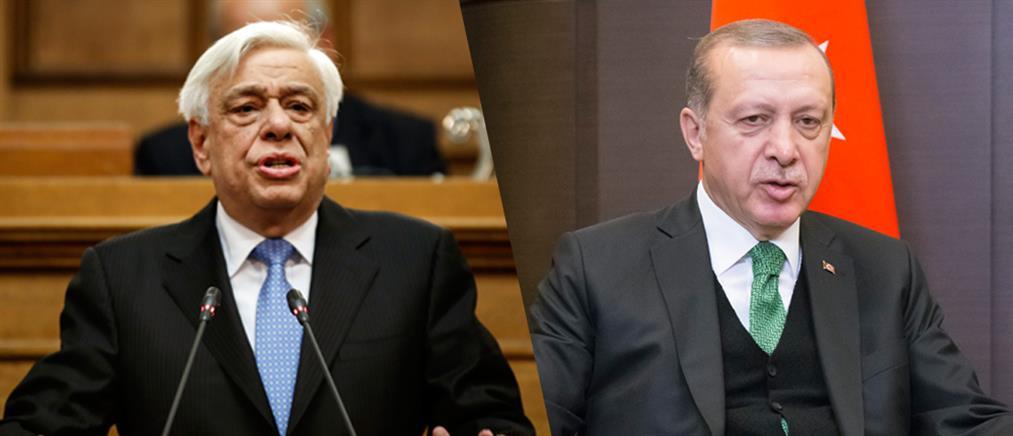 Παυλόπουλος κατά Ερντογάν για την παραβίαση των κυριαρχικών δικαιωμάτων της Κύπρου