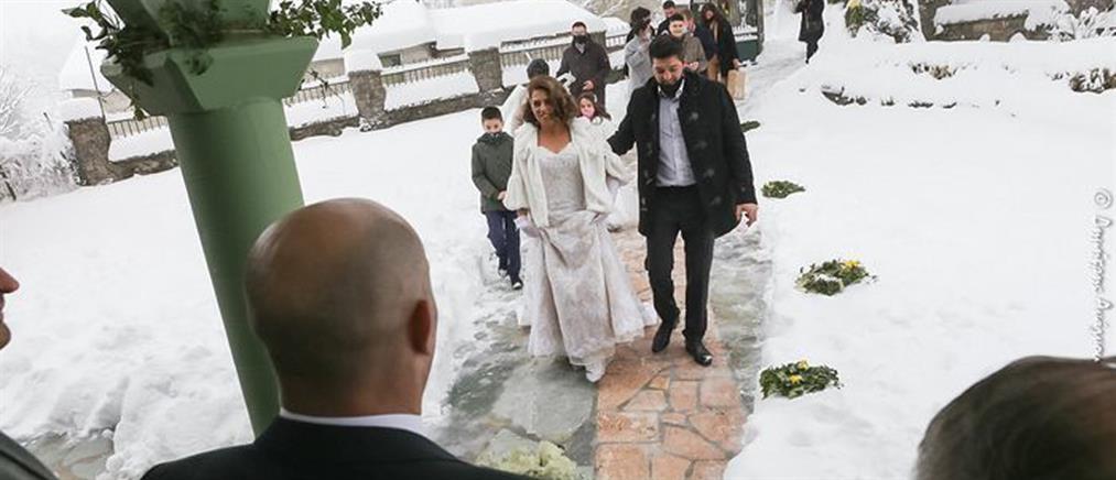"""""""Μήδεια"""":Γάμος με μισό μέτρο χιόνι (εικόνες)"""