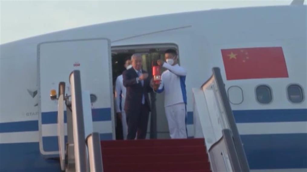 Χειμερινοί Ολυμπιακοί Αγώνες 2022: Η Ολυμπιακή Φλόγα έφτασε στο Πεκίνο