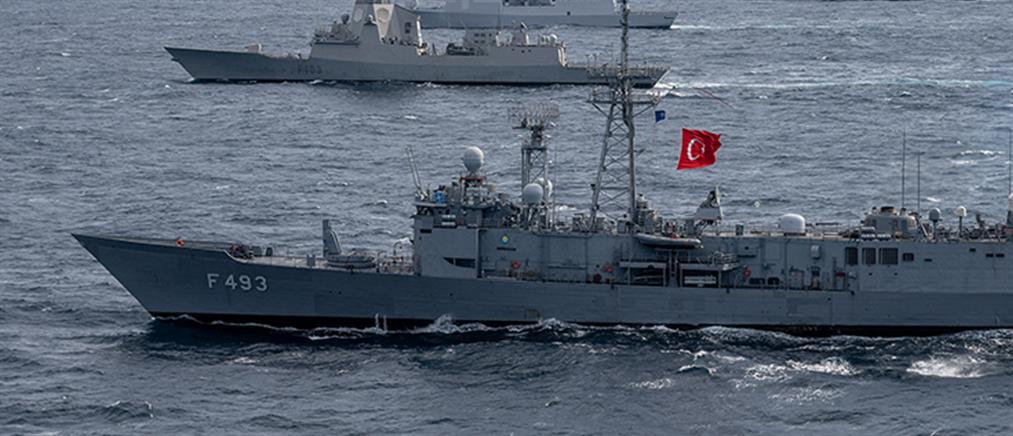 """Η Τουρκία βγάζει τον στόλο της στο Αιγαίο για την άσκηση """"Γαλάζια Πατρίδα"""""""