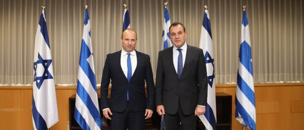 Παναγιωτόπουλος από Ισραήλ: ανάπτυξη της συνεργασίας μας στον αμυντικό τομέα