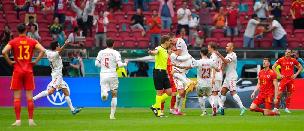 Euro 2020: Η Δανία συνέτριψε την Ουαλία (βίντεο)