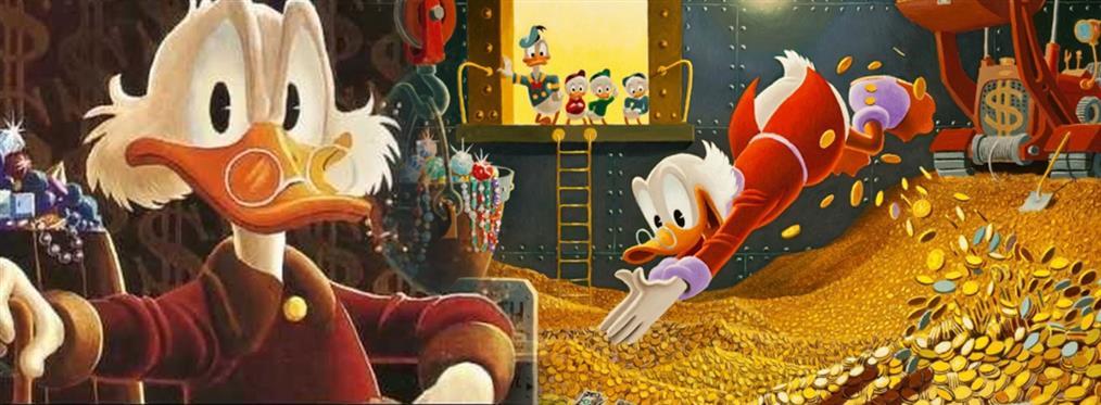 Σκρουτζ Μακ Ντακ: γενέθλια για το πιο πλούσιο και φιλάργυρο παπί του κόσμου