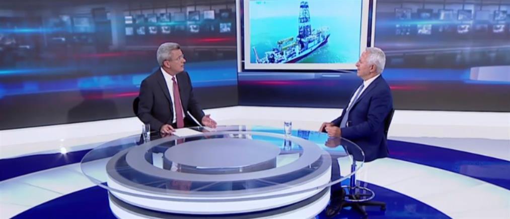 Ο Ευάγγελος Αποστολάκης στον ΑΝΤ1 για τις τουρκικές προκλήσεις