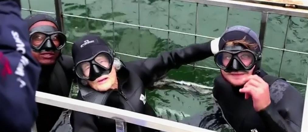 Έκλεισε τα 100 παρέα με καρχαρίες