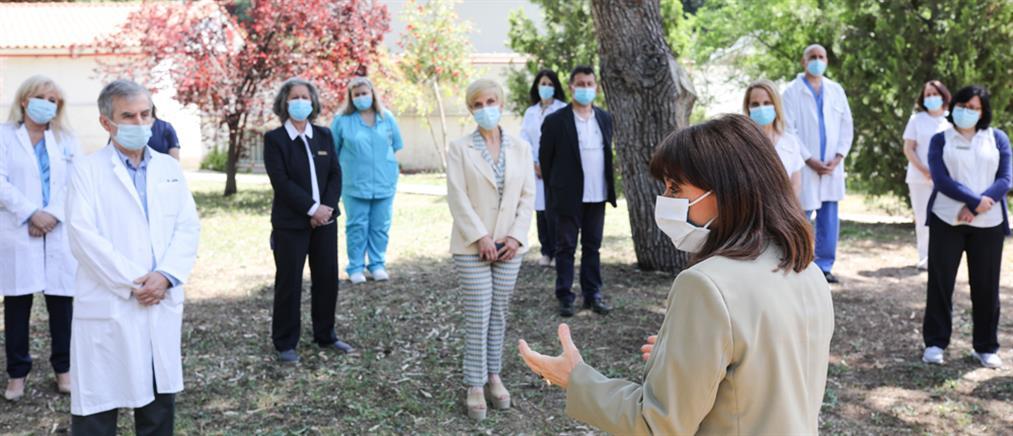 Παγκόσμια Ημέρα Νοσηλευτή - Σακελλαροπούλου: ευχαριστούμε τους ήρωες στην μάχη με τον κορονοϊό