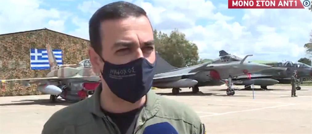 Αναστάσιος Ανδρονικάκης: Ο καλύτερος πιλότος του ΝΑΤΟ μιλά στον ΑΝΤ1 (βίντεο)
