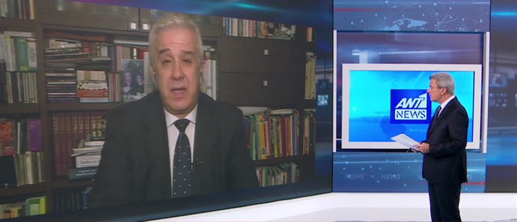 Ο Καθηγητής Διεθνών Σχέσεων, Κώστας Υφαντής, στον ΑΝΤ1 για τα επεισόδια στο Πάντειο (βίντεο)
