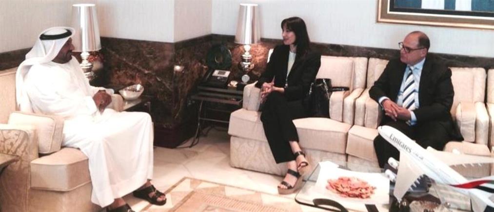 Στα Ηνωμένα Αραβικά Εμιράτα η Έλενα Κουντουρά
