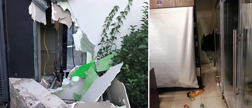 Κινηματογραφική ληστεία σε φούρνο με τη μέθοδο του ριφιφί (εικόνες)