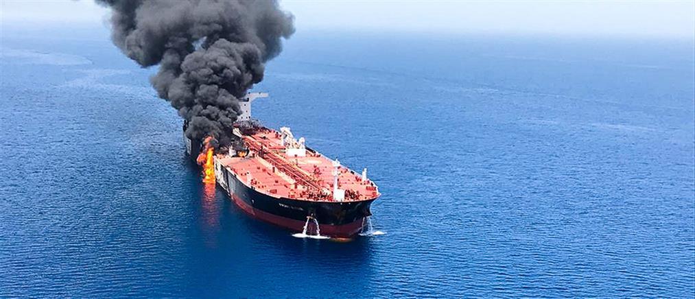 Οι ΗΠΑ κατηγορούν το Ιράν για τις επιθέσεις σε τάνκερ
