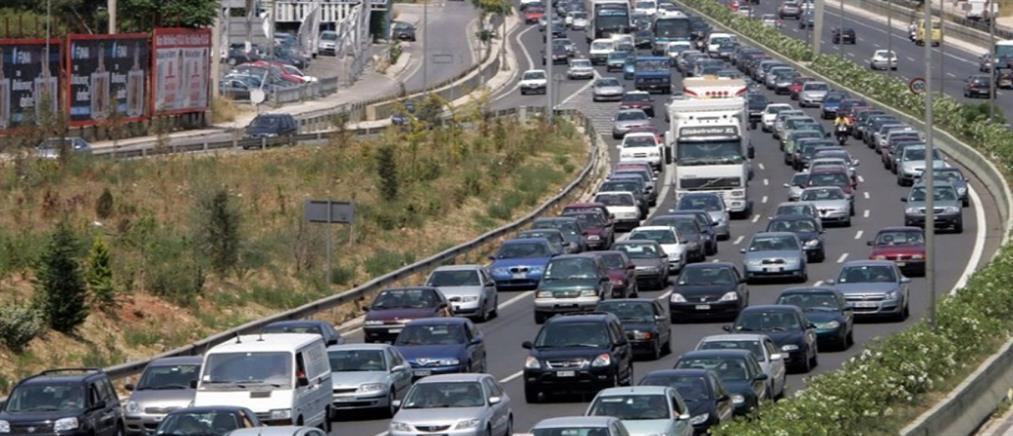 Τροχαίο στην Αθηνών - Λαμίας: μετ' εμποδίων η κίνηση