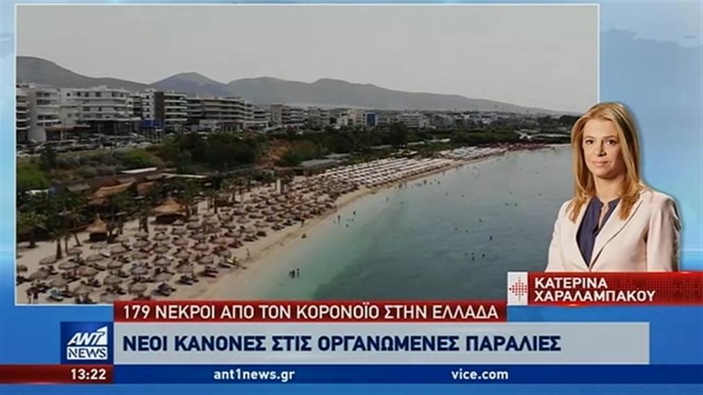 Κορονοϊός: Νέοι κανόνες στην παραλία
